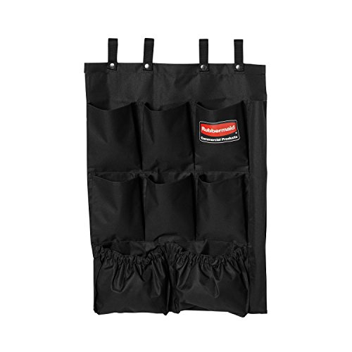 Rubbermaid Commercial 9 Pocket Fabric Organizer (Only) - Black from Rubbermaid