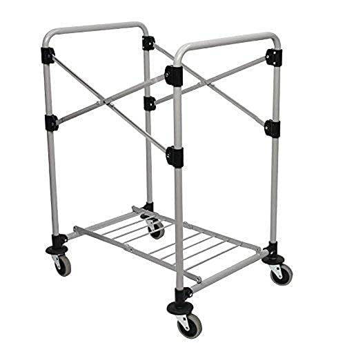Rubbermaid Commercial X-Cart Folding Cart Frame 150L - Grey from Rubbermaid