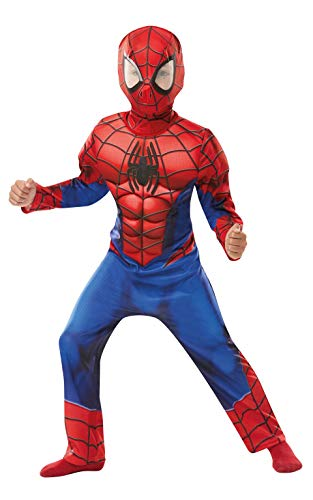 Rubie's 640841M SPIDERMAN Marvel Spider-Man Deluxe Child Costume, Boys, Medium from Rubie´s