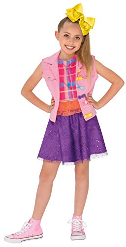 Rubie's 640736S JoJo Siwa Music Video Outfit Children's Fancy Dress Costume, Girls, Small/3-4 Years from Rubie's