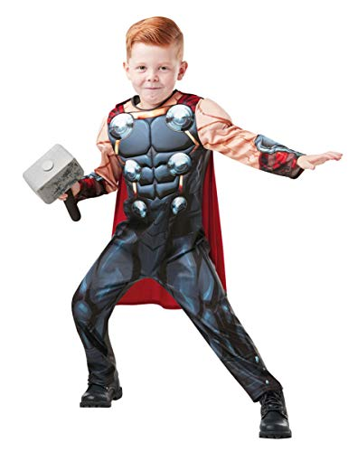 Rubie's 640836S Marvel Avengers Thor Deluxe Child Costume, Boys, Small from Rubie's
