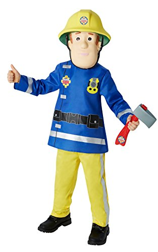 Rubie's Official Kiid's Fireman Sam Costume - Small, Multi-Coloured from Rubie´s