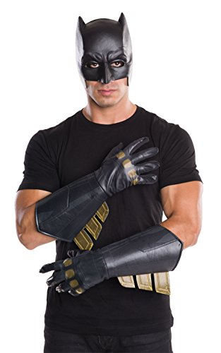 Rubie's Official Batman Gauntlets Gloves Accessory Dawn of Justice, Adult Costume from Rubie's