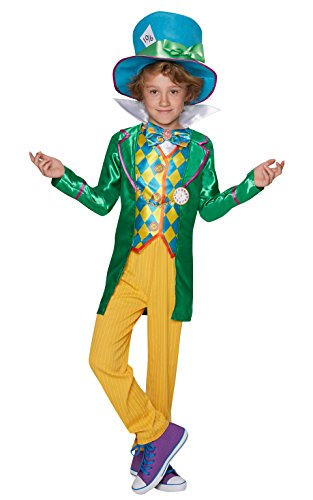 Rubie's Official Boy's Disney Alice in Wonderland Mad Hatter Costume for Age 9-10 from Rubie's