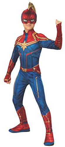 Rubie's Official Captain Marvel Hero Suit, Childs Costume, Small Age 3-4 Years from Rubie's