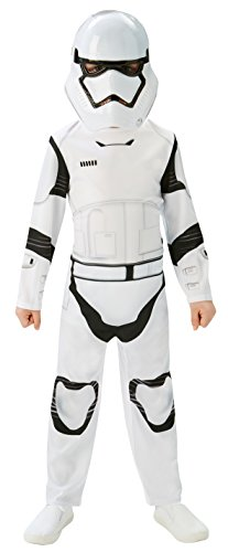 Rubie's Official Stormtrooper Boys Fancy Dress Disney Star Wars The Force Awakens Kids Costume Medium Ages 5-6 from Rubie´s