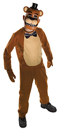 Rubie's Official Childrens Freddy Five Nights at Freddy's Fancy Dress Costume, 132 cm - Medium, 5/7 Years from Rubie's