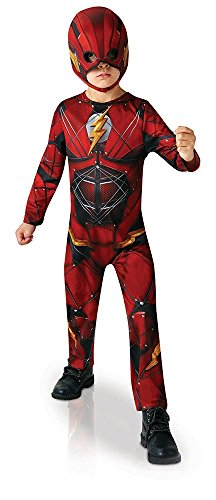 Rubie's Official DC Justice League The Flash, Children Costume - Large Age 7-8 Years, Height 128 cm from Rubie's