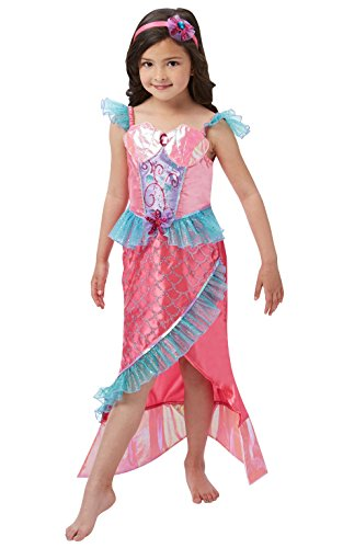 Rubie's 620501L Official Deluxe Mermaid Princess Costume, Girl's, Large from Rubie's
