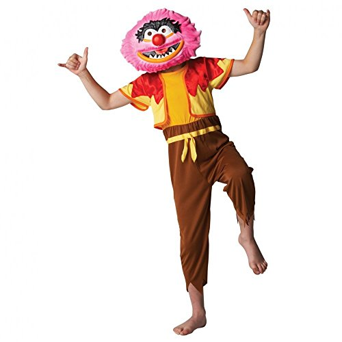 Rubie's Official Disney Muppets Deluxe Animal Costume - Large, 7-8 Years from Rubie's