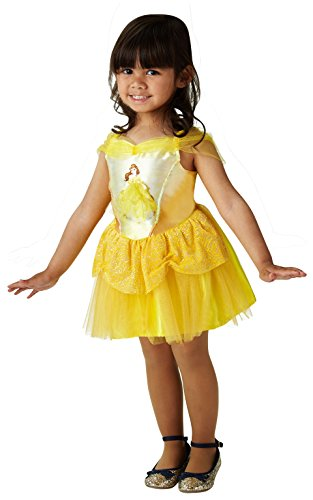 Rubie's Official Disney Princess Belle Ballerina Childs Costume - size Toddler 2-3 years, Height 98 cm from Rubie´s