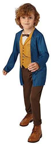 Rubie's Official Fantastic Beasts Warner Bros Newt Scamander Classic Childs Costume - Large from Rubie's