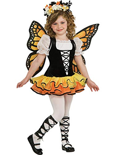 Rubie's Official Girls Monarch Butterfly Costume Girls Large from Rubie´s