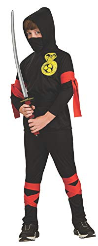Rubie's Official Ninja Fancy Dress, Child Costume - Medium from Rubie´s