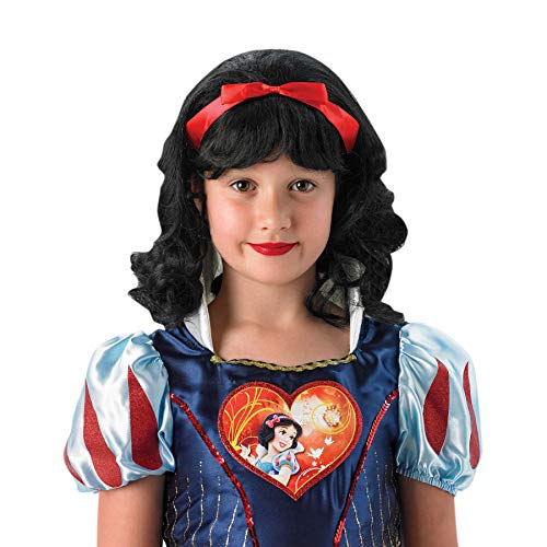 Rubie's 9907NS Snow White Wig, Kids', One Size from Rubie's