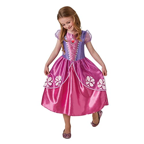 Rubie's Official Sofia the First Girls Fancy Dress Disney Princess Book Day Childs Costume Outfit from Rubie's