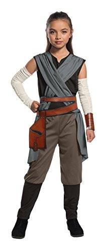 Rubie's 640105S Official Star Wars Last Jedi Rey Girls Child Costume, Small 3-4 Years, Height 117 cm from Rubie´s