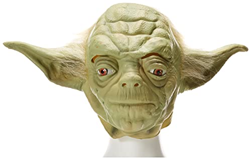 Rubie's 4192NS Official Star Wars Yoda Latex Full Overhead Mask, Adults, One Size from Rubie's