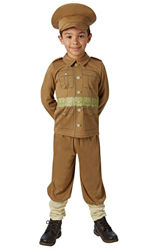 Rubie's Official WW1 Soldier - Boy Costume Boys Medium from Rubie´s