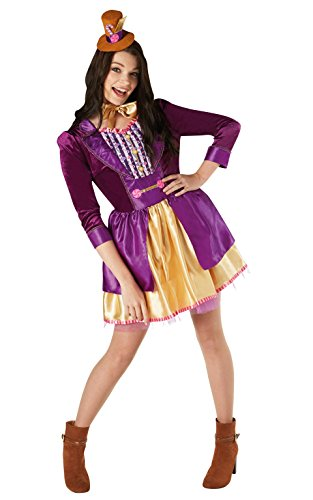 Rubie's 820591S Official Willy Wonka and The Chocolate Factory Costume, Women's, Small from Rubie's