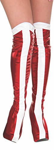 Rubie's Official Wonder Woman Boot Tops, Adults Costume from Rubie's