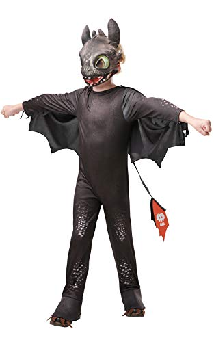 Rubie's Official How to Train Your Dragon - Toothless Dragon, Childs Costume Deluxe, Large Age 7-8 Years from Rubie's