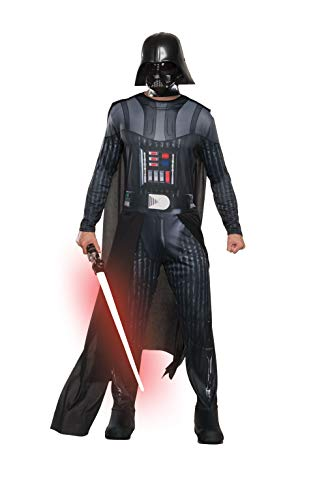 Rubie's Official Disney Star Wars, Darth Vader Adult Costume, Mens Size Standard, Chest 44-inch, Waist 30 - 34-inch, Inseam 33-inch from Rubie's