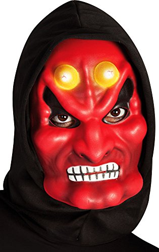 Rubie's – S5091 Devil Mask with Face Mask – One Size from Rubie's