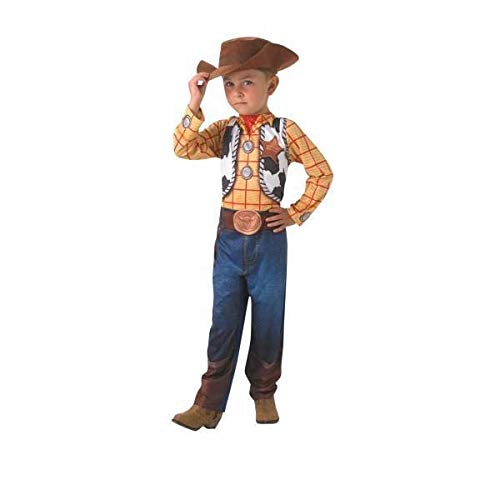 TOY STORY (DISNEY PIXAR) ~ Woody Classic - Kids Costume 5 - 6 years from Rubie's