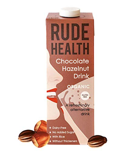 RUDE HEALTH FOODS | Hazelnut/Cacao Drink - Organic | 5 x 1l (UK) from Rude Health Foods