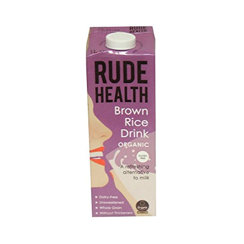 (12 PACK) - Rude Health - Organic Brown Rice Drink | 1000ml | 12 PACK BUNDLE from Rude Health