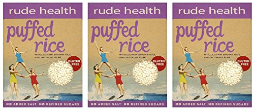 (3 PACK) - Rude Health - Puffed Brown Rice | 225g | 3 PACK BUNDLE from Rude Health