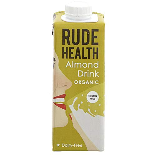 Rude Health Dairy Free & Unsweetened Almond Drink 250ml x 10 from Rude Health