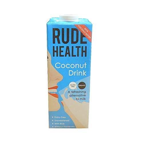 Rude Health Organic Coconut Drink 1000ml X 4 (Pack of 4) from Rude Health