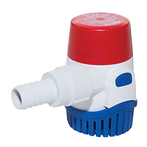 Rule 29 - 25d Bilge Pump Submersible Pump 12 V 500 G/H (1.892 L/H) 19 mm from Rule