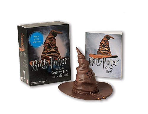 Harry Potter Talking Sorting Hat and Sticker Book: Which House Are You? (Miniature Editions) from Running Press