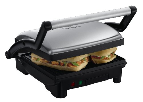 Russell Hobbs 3-in-1 Panini Press, Grill and Griddle 17888, Stainless Steel from Russell Hobbs