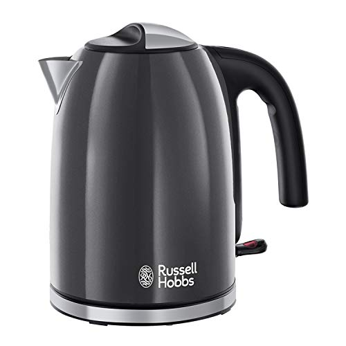 Russell Hobbs Colour Plus Kettle 20414, 3000 W, 1.7 L - Storm Grey from Russell Hobbs