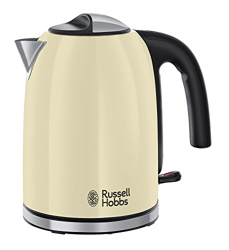Russell Hobbs Colour Plus Kettle 20415, 3000 W, 1.7 Litre, Classic Cream from Russell Hobbs