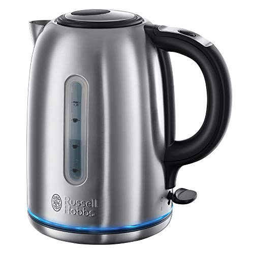 Russell Hobbs 20460 Quiet Boil Kettle, Brushed Stainless Steel, Silver, 3000 W, 1.7 Litre from Russell Hobbs