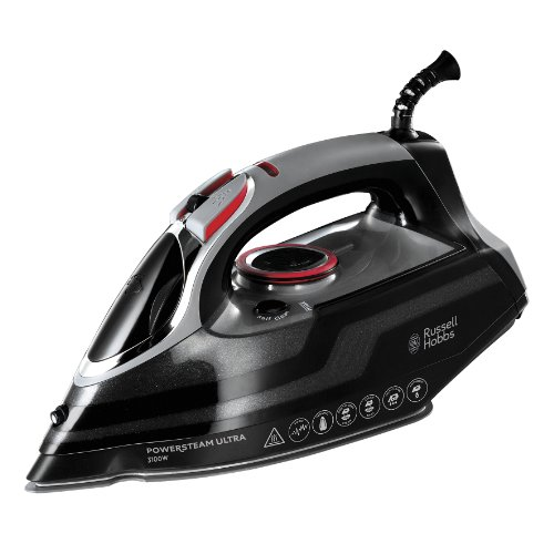 Russell Hobbs Powersteam Ultra 3100 W Vertical Steam Iron 20630 - Black and Grey from Russell Hobbs