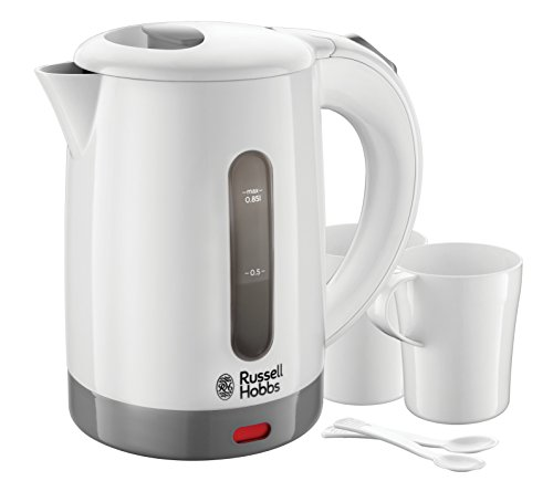 Russell Hobbs 23840 Compact Travel Electric Kettle, Plastic, 1000 W, White from Russell Hobbs