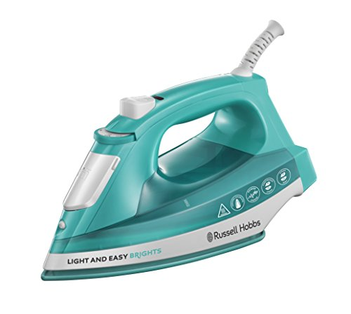 Russell Hobbs 24840 Light and Easy Bright Iron, 2400 W, Aqua from Russell Hobbs