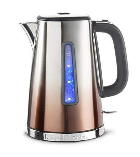 Russell Hobbs 25113 Eclipse Polished Stainless Steel and Copper Sunset Ombre Electric Kettle, 3000 W, 1.7 Litre from Russell Hobbs