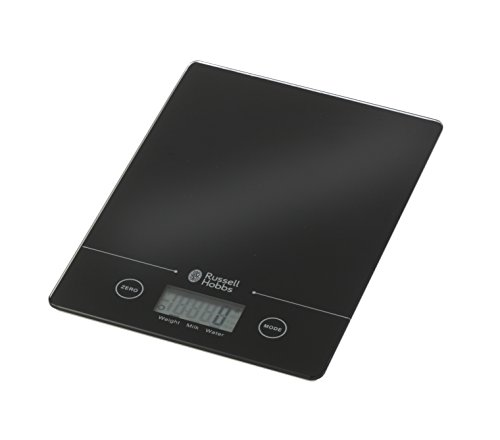 Russell Hobbs BW00768 Digital Kitchen Scale, 5 kg, Black from Russell Hobbs