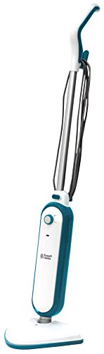 Russell Hobbs RHSM1001-G Steam and Clean Steam Mop White & Aqua - Free 2 year guarantee from Russell Hobbs