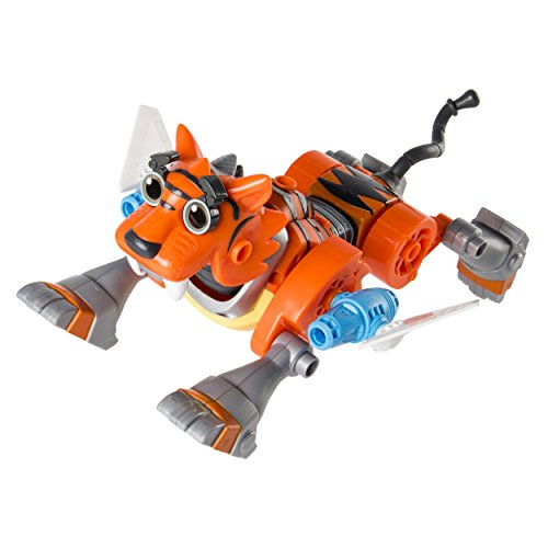 Rusty Rivets – Tigerbot Building Set with Lights and Sounds, for Ages 3 and Up from Rusty Rivets