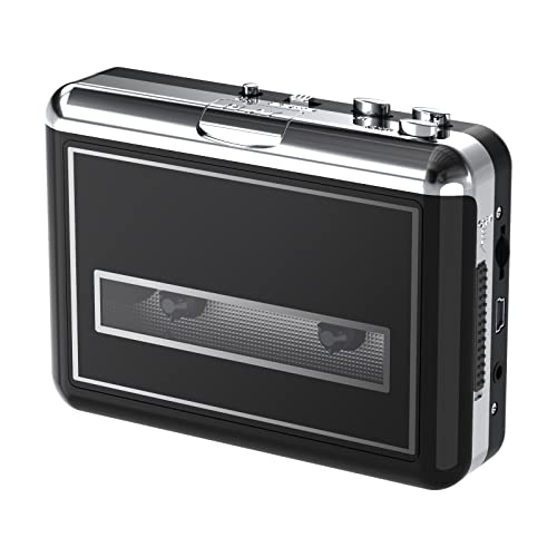 Rybozen Cassette Player, Portable Walkman & Convert Cassette Tapes to MP3 Converter, New Software (AudioLAVA) from Rybozen