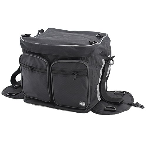 Ryde Large Rear Motorcycle Tail Bag from Ryde