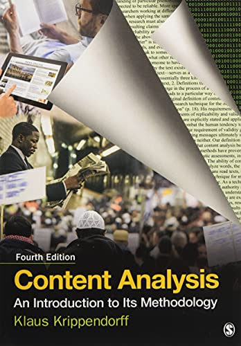 Content Analysis: An Introduction to Its Methodology from SAGE Publications, Inc